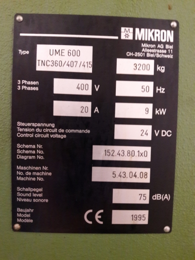 UME 600